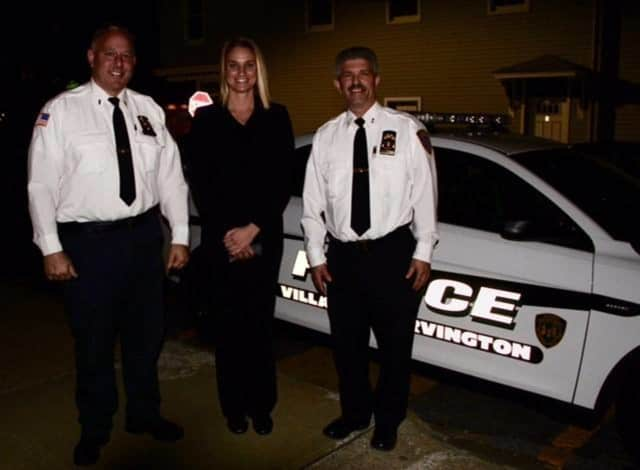 The Irvington Police Department has welcomed its newest police officer, Jessica Huth.