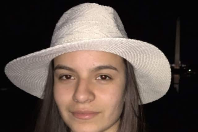 Karina Tinajero, an 18-year-old senior at Stamford High, died of her injuries after she was hit by a van on Strawberry Hill Avenue on Nov. 5. A Stamford man was arrested Saturday in connection with the death.