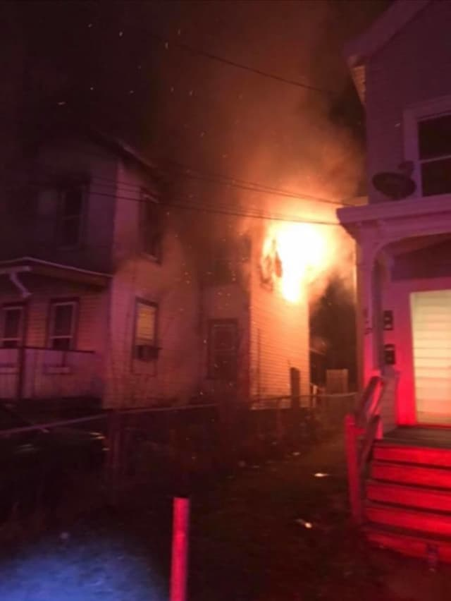 Firefighters have responded to a fire at a vacant home located at 44 Harrison St. twice within the past two weeks.
