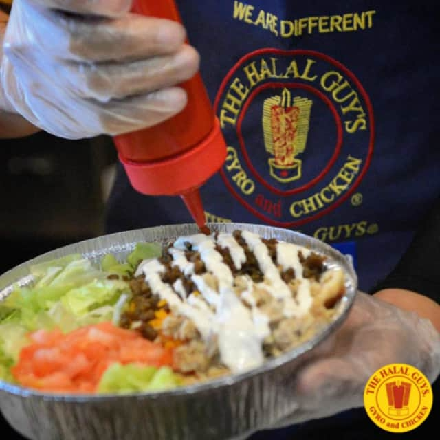 The Halal Guys are opening in Teterboro.