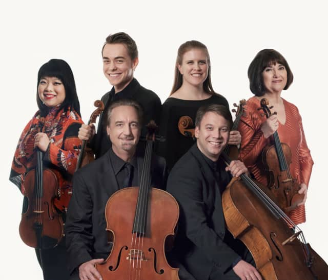 The string ensemble from the Chamber Music Society of Lincoln Center will perform at Ossining High School on April 16.