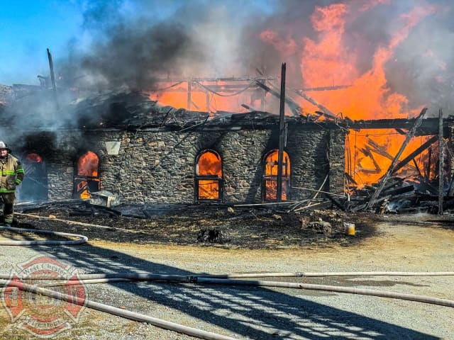 Support is surging for a Chester County barn owner who was left burned and lost two horses in a grueling brush fire over the weekend, authorities said.