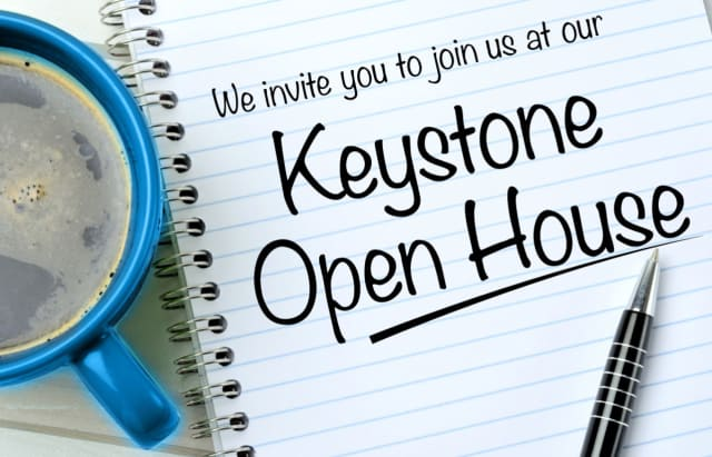 Keystone House will hold an open house May 19.