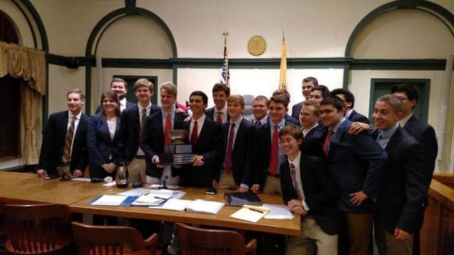 Bergen Catholic's mock trial team took home first place at the state championship.