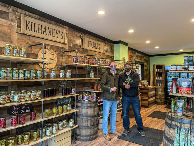 Kilhaney's Pickles is now open on Main Street in Clinton, marking the brand's second physical retail location following the original Hackettstown store.