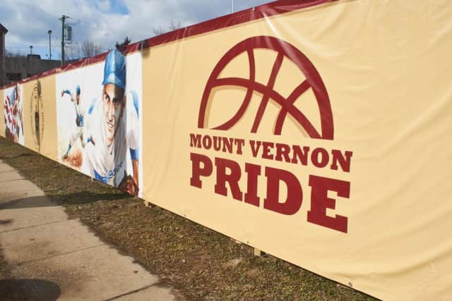 The Wall of Legends was one of the art installations that were tagged recently, prompting Mount Vernon Mayor Richard Thomas to announce a project for artists at the local train station.