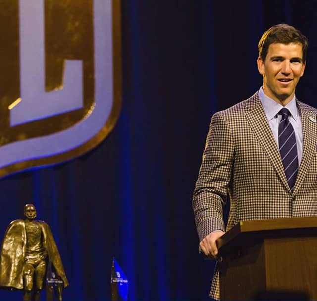 Eli Manning is slated to appear in Bergen County Superior Court.