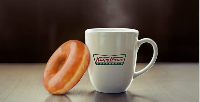 Krispy Kreme is coming.