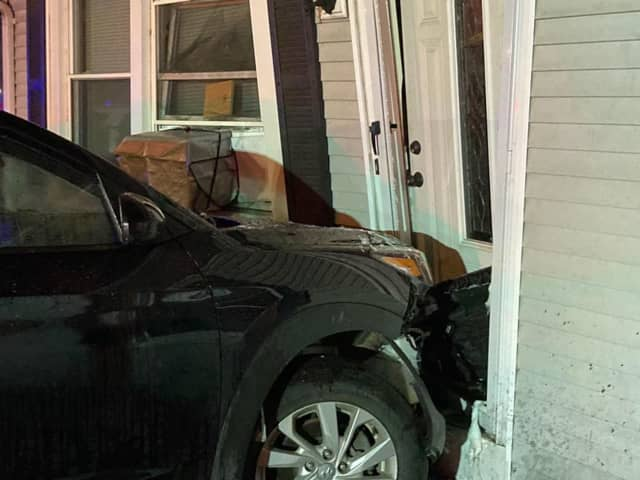 A driver lost control of their vehicle and drove into a Springfield home.