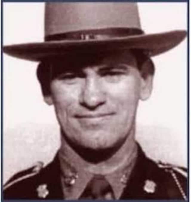 Connecticut State Trooper Ernest J. Morse was shot to death by suspected car thieves on the Merritt Parkway.