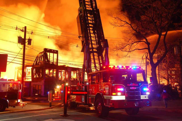 A recent six-alarm fire is reigniting debate on Edgewater's AvalonBay construction project.