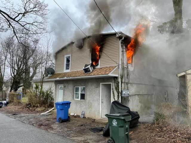 Several people were hospitalized after a fire broke out in a South Media home Thursday morning.