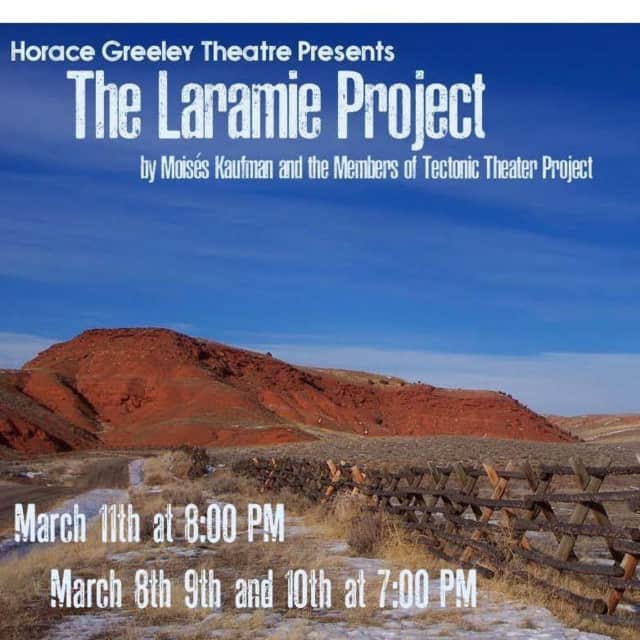 """Students at Horace Greeley High School will perform in renditions of """"The Laramie Project,"""" a play about the 1998 beating and death of Matthew Shepard."""
