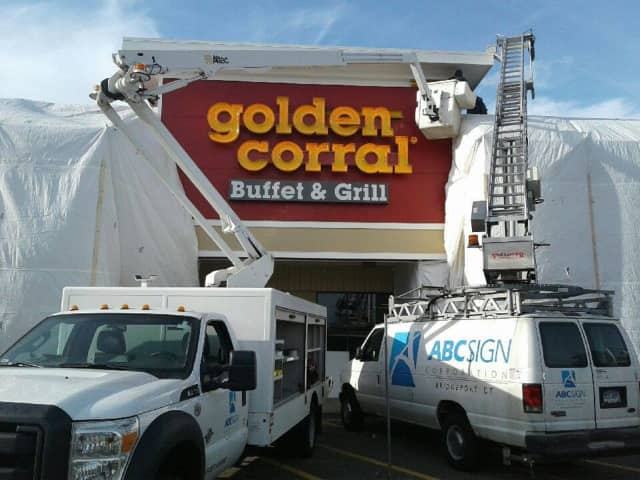 The first Golden Corral in Connecticut will open next week at 74 Turnpike Square in Milford.