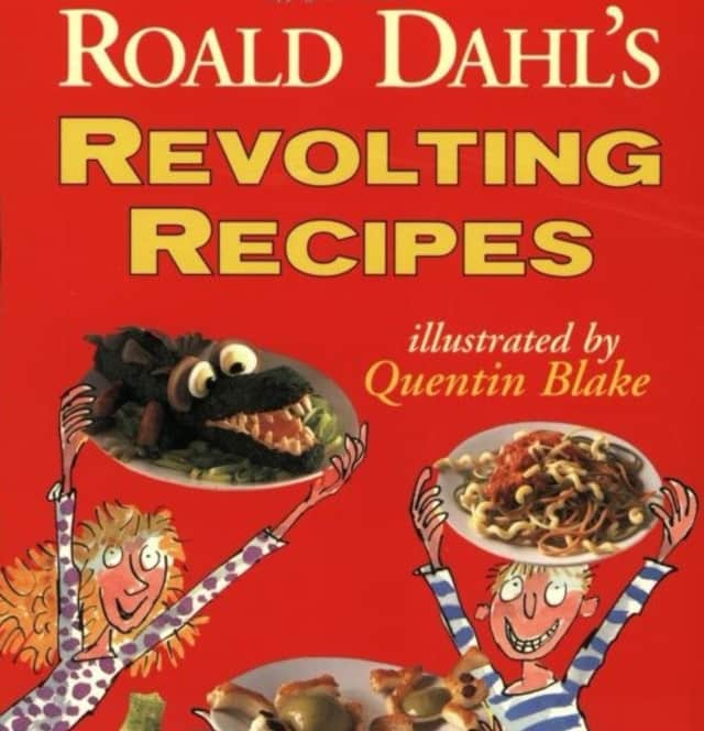 "Roald Dahl's ""Revolting Recipes"" is the prize in the icky snack contest."