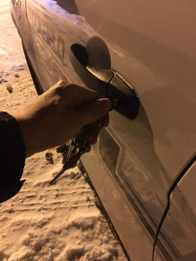 Brookfield police officers investigating several car thefts in town took to Facebook recently with a warning to residents: Don't help the criminals. Lock your car doors.