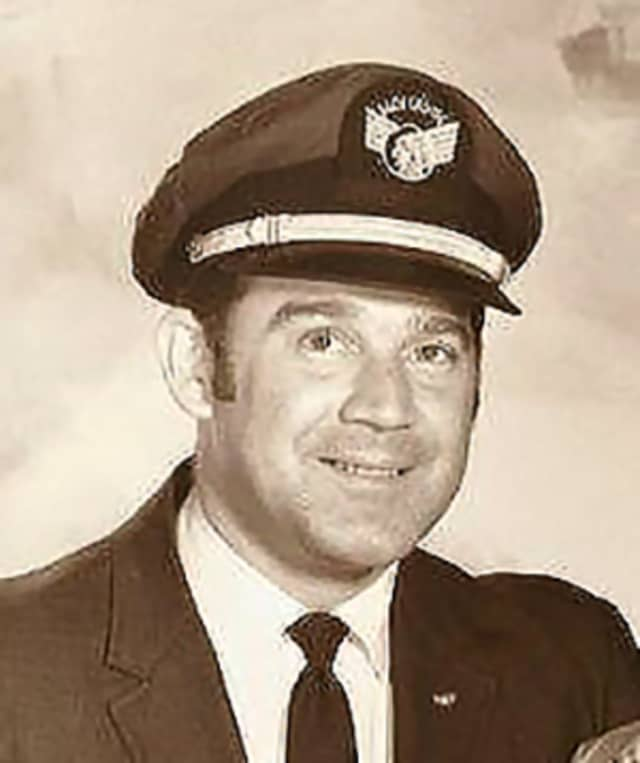 Donald Hackert worked at Westchester County Airport before starting his 30-year career as a pilot.