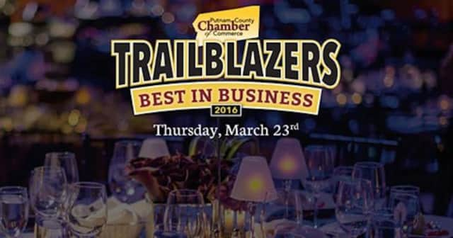 The Putnam County Chamber announced its 2016 Best in Business Trailblazer award winners Friday.