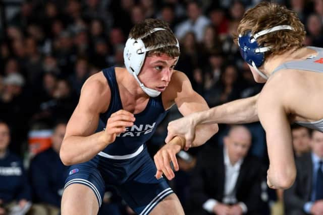 Penn State wrestler and four-time high school state champion Nick Suriano.