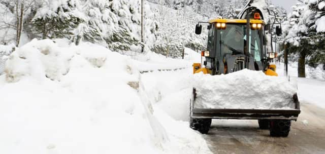 Dutchess County residents are asked to only travel the roadways if necessary as the Department of Public Works works to clear roads of snow.