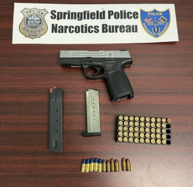 Illegal weapons and ammo were seized by the Springfield Police Department.