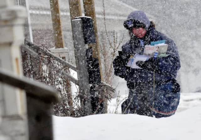 Keep your walkways and mailboxes clear of snow.