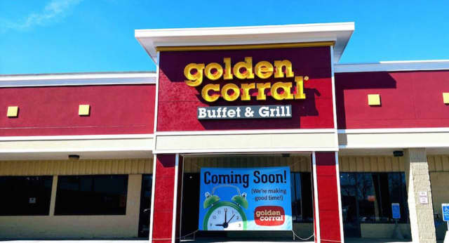 The first Golden Corral in Connecticut will open soon at 74 Turnpike Square in Milford.