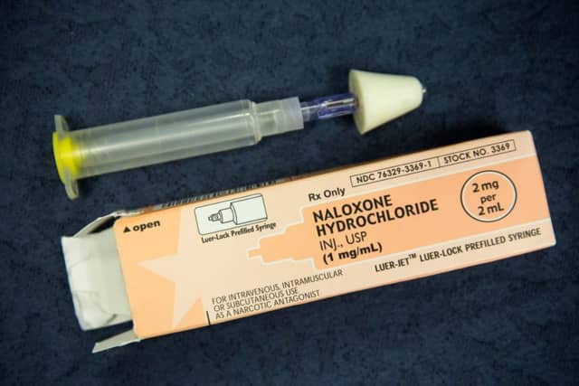 Ramapo police saved a local woman who had overdosed with several doses of Naloxone.