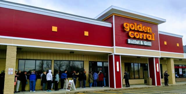 The Golden Corral in Milford opened for business on April 1 and is now closing.