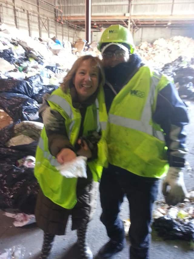 Shannon Lombardo found her wedding ring at a Fairvew trash site.