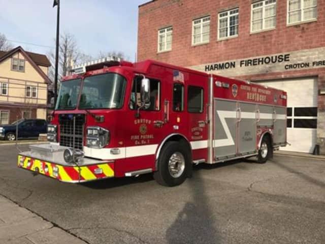 Croton's new Rescue 18 fire truck.