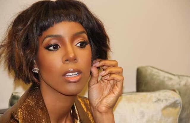Former Destiny's Child star Kelly Rowland was in Ridgewood on Wednesday.