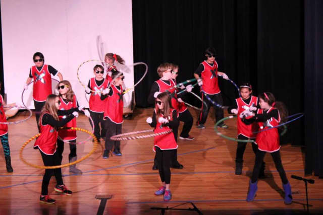 Students from last year's Somers talent show perform. This year's event takes place Jan. 29 at Somers Middle School.