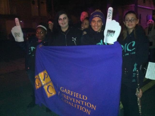 Members of the Garfield Prevention Coalition showing their team spirit.