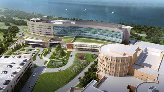 New pavilion planned for at Vassar Brothers Medical Center.