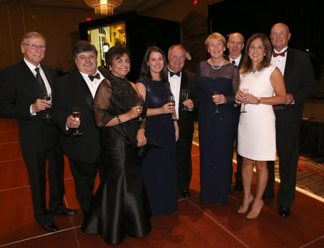Members of Putnam Hospital Center attended the annual gala last month, which benefitted cancer care.
