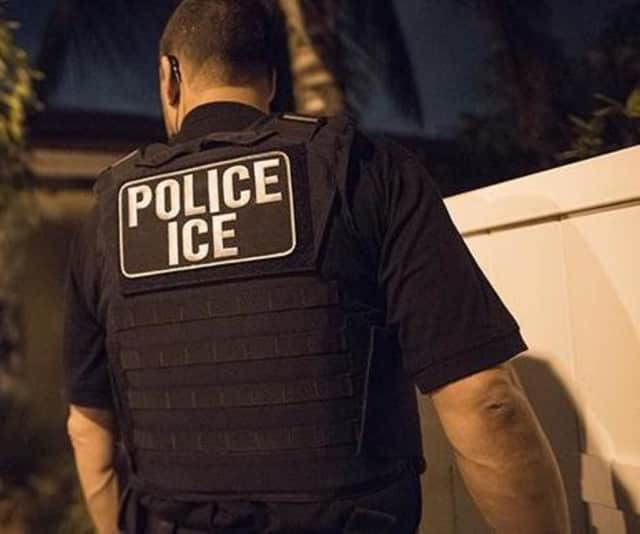 A Bridgeport person was arrested during a nationwide sweep by ICE.