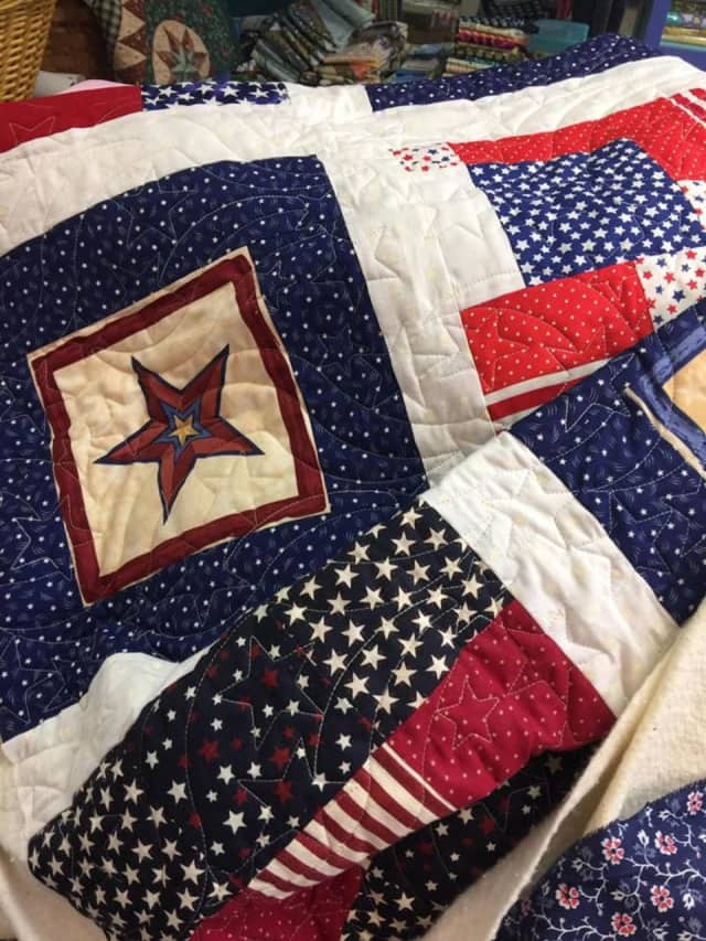 Christie's Quilting Boutique will once again partner with Connecticut's Quilts of Valor Foundation, as they knit special quilts for local veterans.