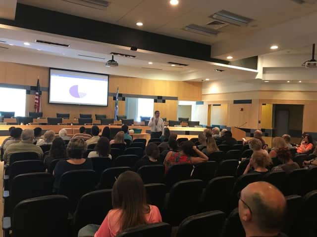 More than 80 residents turned out to learn how to use Narcan to save someone from an opioid overdose.
