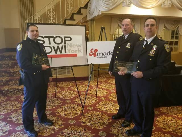 The Port Chester Police Department was celebrated for its work in deterring impaired driving.