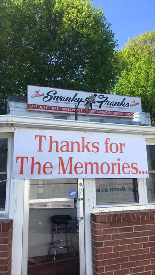 The Original Swanky Franks is closed after over six decades of dishing up delicious hot dogs in Norwalk.