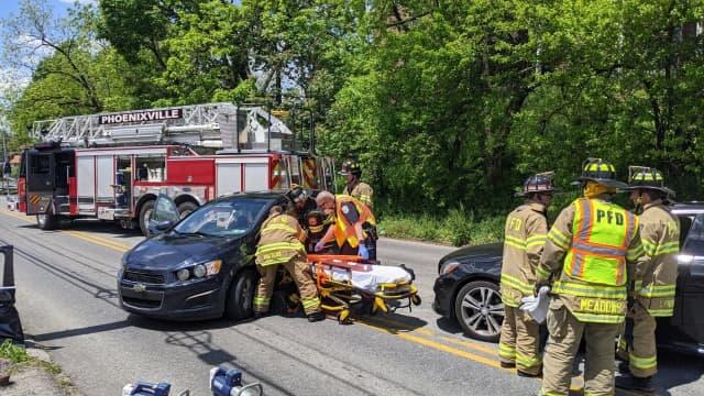 Phoenixville crash Friday