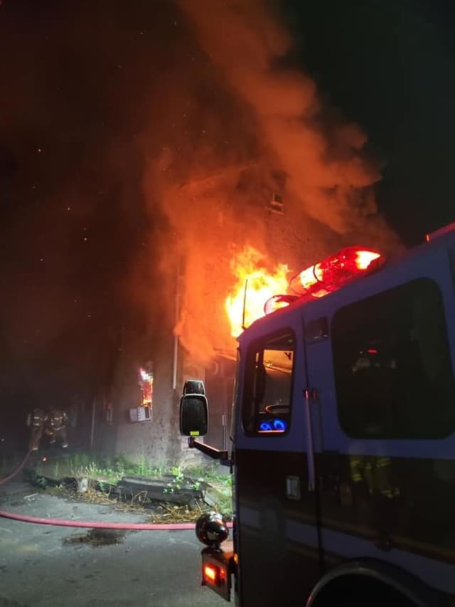 May 9 Fire at Ye Olde Mill Shoppe on Route 206 in Flanders