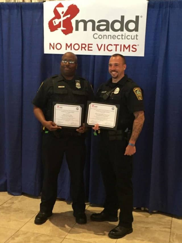 Officers Tyrone Boyd and Christopher Wasilewski.