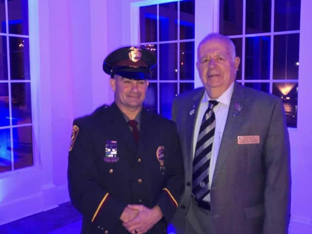 Ridgefield's Shawn Murray was named Officer of the Year.