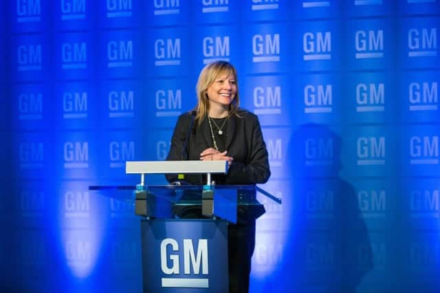 GM Chairman and CEO Mary Barra.