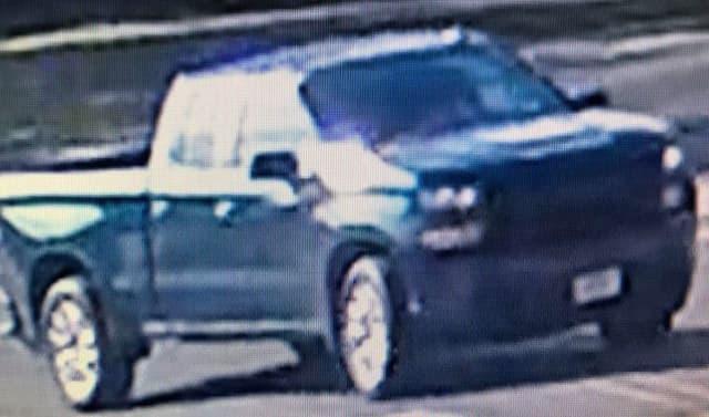 Chevrolet Silverardo wanted in May 14 crash.