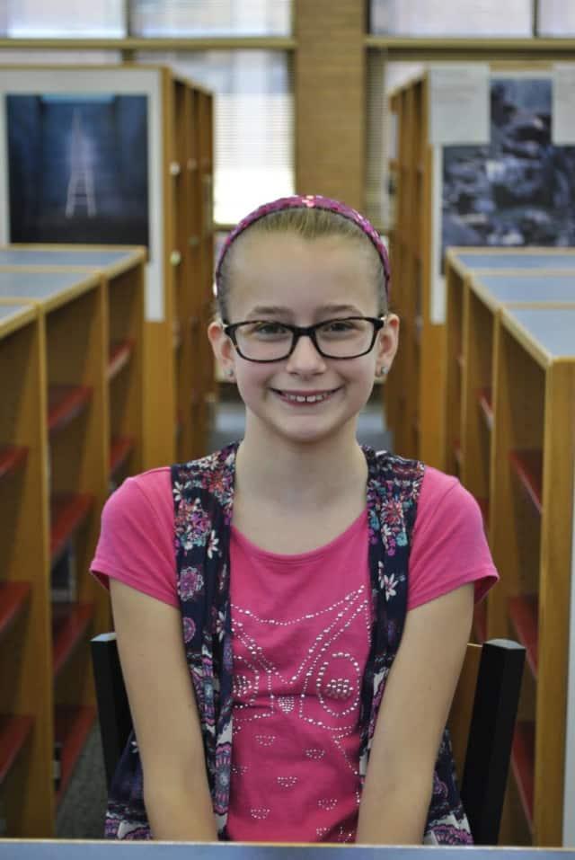 Sixth-grader Megan Quinn was named a finalist for her essay about her math teacher.