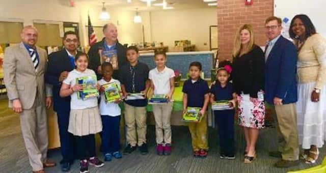 Bridgeport schools will get 20,000 books from the Ocean State Job Lot Foundation.