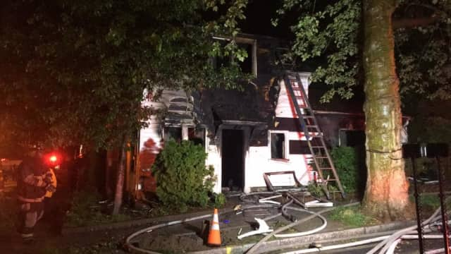 A fire displaced several in Mount Vernon.